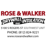 Rose & Walker - Drywall & Insulation - Logo